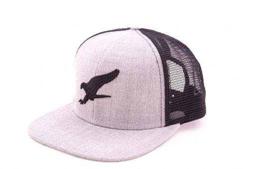 All Day Logo Snapback (Gris)